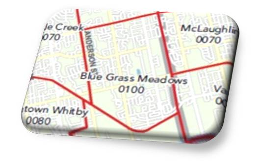 Bluegrass Meadows Map