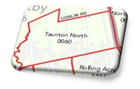Taunton North Real Estate Map